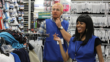 First Look: Sam Dushey Goes Undercover At Shoppers World In Ep. 3