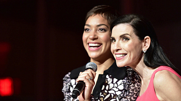19 Adorable Photos From The Good Wife Wrap Party