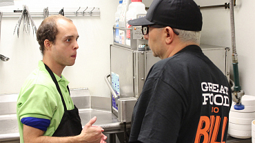 First Look: Nader Masadeh Goes Undercover At Buffalo Wings & Rings In Ep. 1