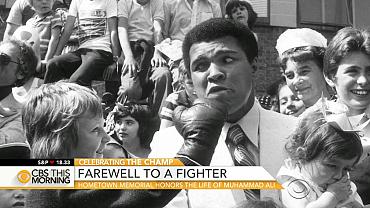 Louisville memorial honors the life of Muhammad Ali