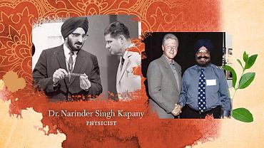Kunal Nayyar Discusses Narinder S. Kapany