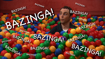 Every. Bazinga! Ever. (On Loop For 200 Minutes!)