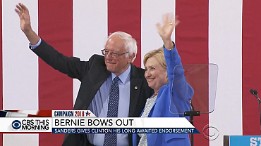 Sanders gives Clinton his long-awaited endorsement