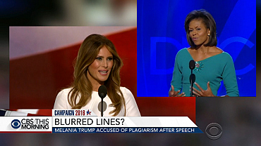 Melania Trump accused of plagiarizing Michelle Obama