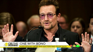 U2\'s Bono on social activism and 2016 race