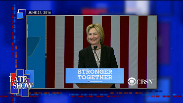 Hillary Clinton Questions Donald Trump's Business Record