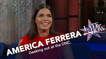 America Ferrera Swam a Mile in the Ocean