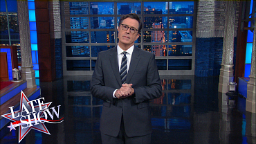 Stephen Colbert Reacts To Charlotte's State Of Emergency