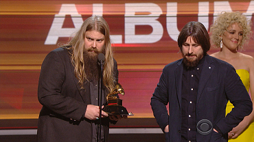 Chris Stapleton Wins 2016 GRAMMY For Best Country Album