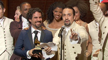 Hamilton Wins 2016 GRAMMY For Best Musical Theater Album
