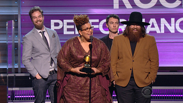 Alabama Shakes Win 2016 GRAMMY For Best Rock Performance