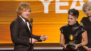 Ed Sheeran Wins 2016 GRAMMY For Song of the Year