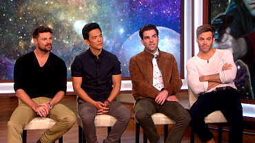 \'Star Trek\' Cast Answer \'Where No Man Has Gone Before\' Questions