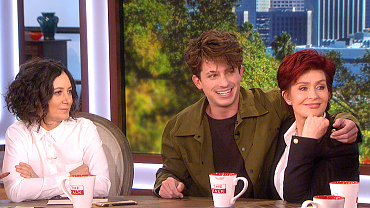 Surprise! Charlie Puth Saves Julie Chen From Shaving Her Eyebrow