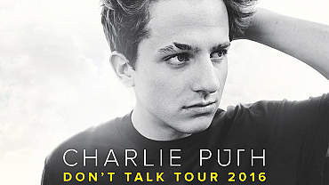 Charlie Puth's Don't Talk Tour 2016
