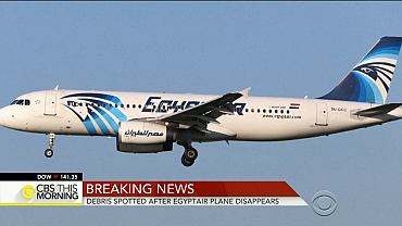 Massive search underway for missing EgyptAir Flight 804