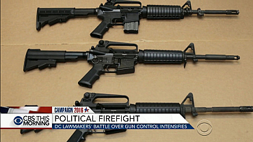 Congressional battle over gun control intensifies