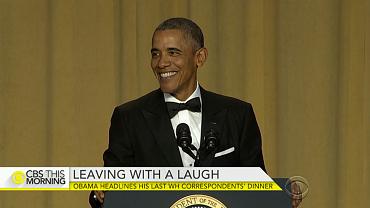 Obama headlines his last WH Correspondents\' Dinner