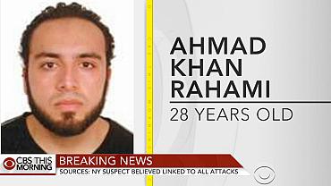 New York City bombing suspect identified