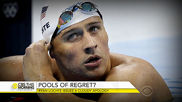 Pools of regret for U.S. swimmers in fabricated robbery story