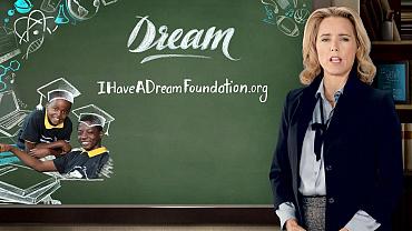 "Téa Leoni on ""I Have A Dream"" Foundation"