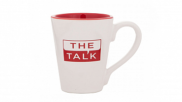 'The Talk' Latte Mug
