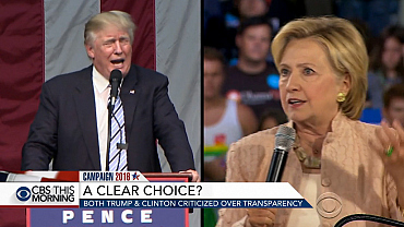 Both Trump and Clinton criticized for lack of transparency