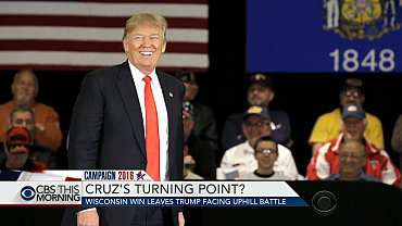 Trump faces uphill battle after Wisconsin loss
