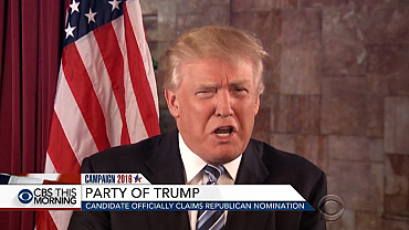 Trump officially claims Republican nomination
