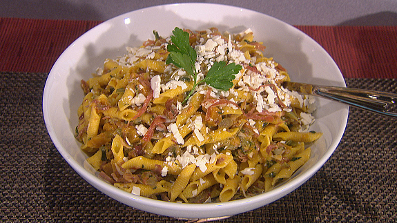 ... with Prosciutto, Kale, Squash and Ricotta Salata - The Talk - CBS.com