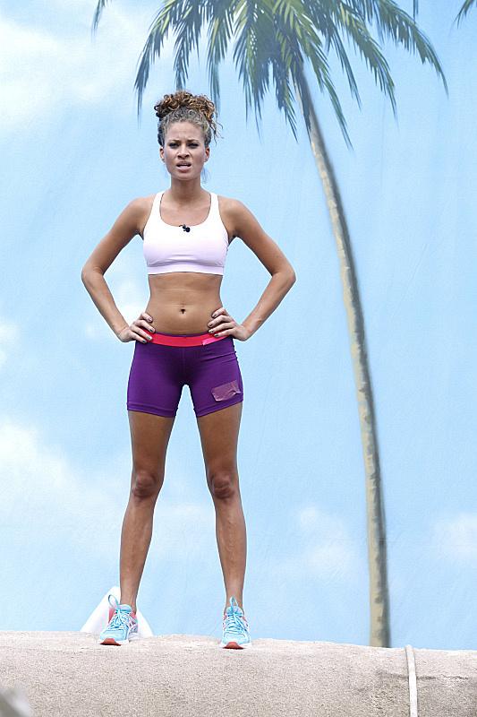 Amber wilson bikini cbs