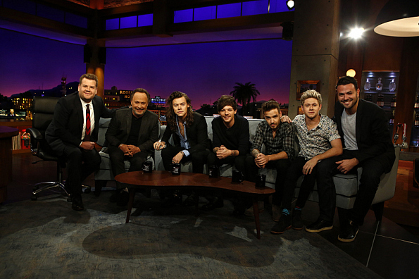 One Direction - on The Late Late Show | 8 Pictures ...