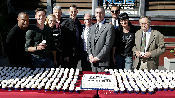 Go inside the ncis 300th episode party