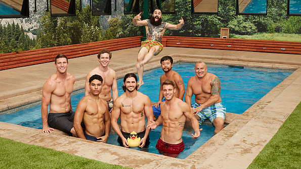 Big brother season 18 houseguests test drive their for Pool guy show