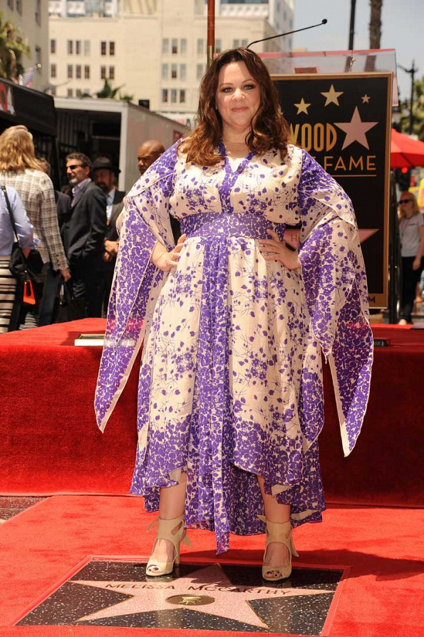 Melissa McCarthy Honored With Star On Hollywood Walk Of ...