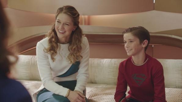 Kara's memory reunites her with her cousin, Kal-El.